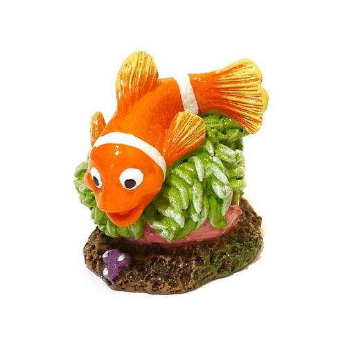 Rosewood Clownfish Critter Fish Tank Ornament