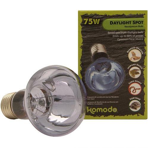 75W Komodo Neodymium Daylight Spot Bulb ES