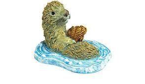 Rosewood Aqua Critters Otter Fish Tank Ornament