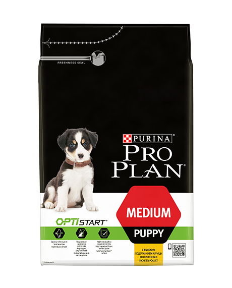 PURINA PRO PLAN MEDIUM PUPPY Dog CHICKEN 3kg