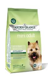 Arden Grange Mini Adult with fresh lamb & rice 2kg