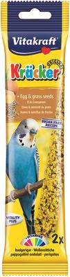 Vitakraft Budgie Egg & Grass Seeds Kracker 60g