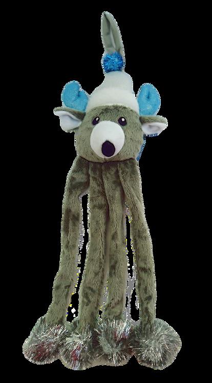 Reindeer Door Hanger Winter Wonderland Cat Toy by Happypet