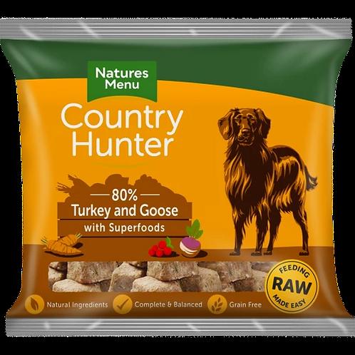 Natures Menu Country Hunter Turkey & Goose