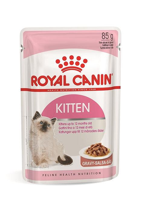 Royal Canin Kitten in Gravy Wet Pouch Cat Food