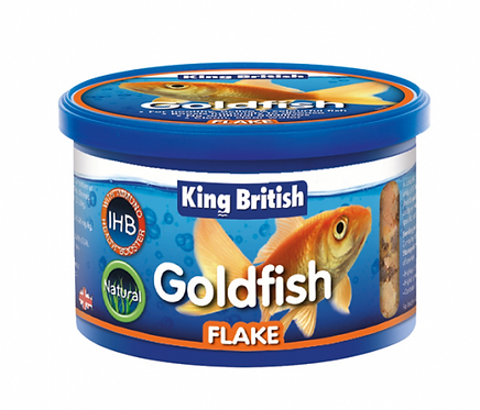 King British Goldfish Flake (with IHB)