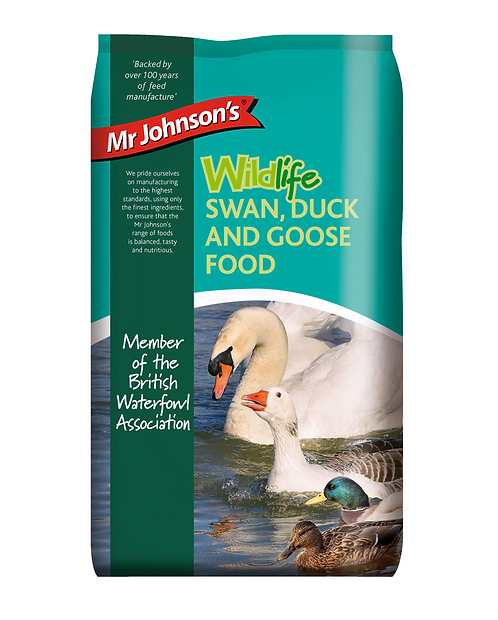Mr Johnson's Wildlife SWAN, DUCK AND GOOSE FOOD 750g