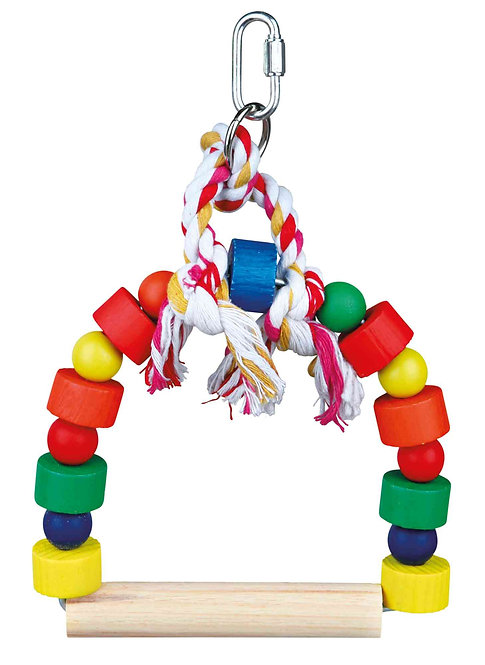 Trixe Colourful Arch Bird Swing