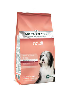 Arden Grange Adult Dog - Salmon 6kg