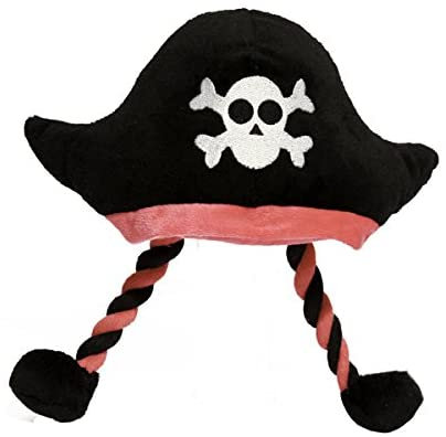 Mr Twister Pirate Hat Dog Toy by Rosewood