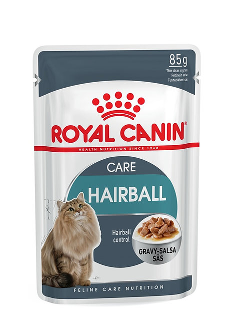 Royal Canin Hairball in Gravy Wet Pouch Cat Food