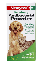 Vetzyme Anti-bacterial powder for pets - 40G