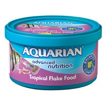 AQUARIAN® Tropical Flake Fish Food
