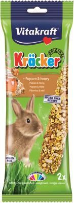 Vitakraft Rabbit Popcorn & Honey Kracker 112g