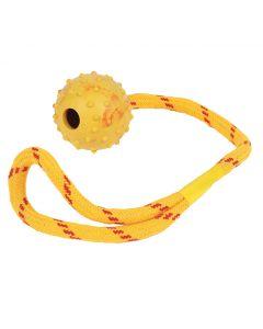 "Happypet Studded Rope Ball Floater 2"""