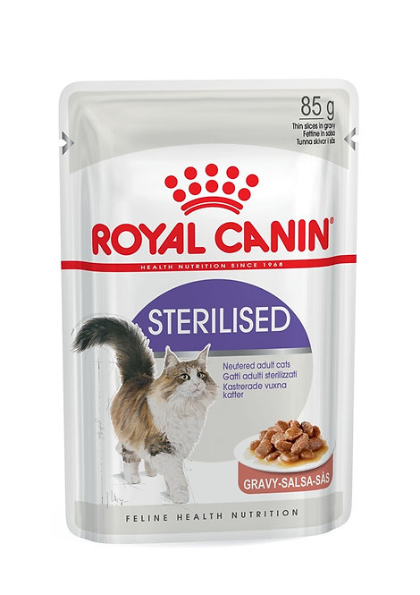 Royal Canin Sterilised in Gravy Wet Pouch Cat Food