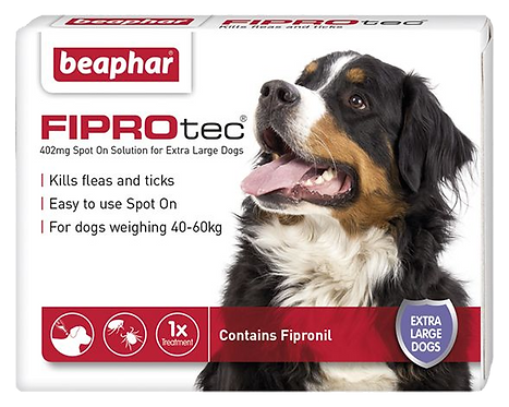 Beaphar FIPROtec® Flea Spot on Solution for Extra Large Dogs