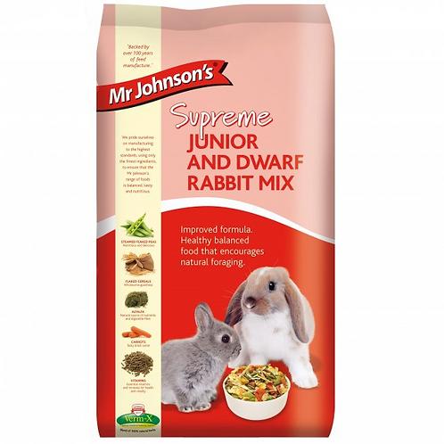 Mr Johnson's Supreme JUNIOR & DWARF RABBIT MIX