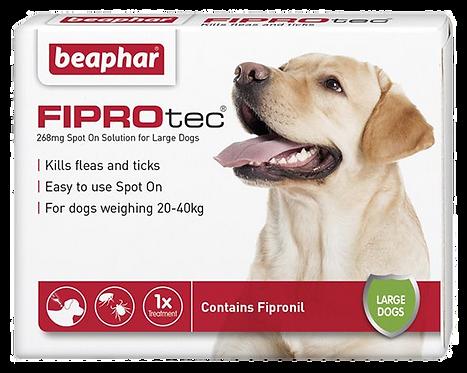 Beaphar FIPROtec® Flea Spot on Solution for Large Dogs