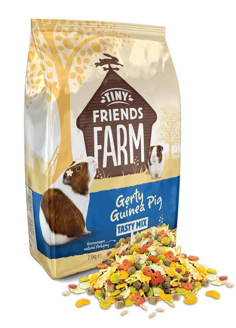 Tiny Farm friends Gerty Guinea Pig Tasty Mix 12.5kg