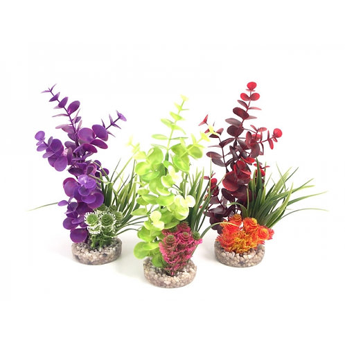 Coloured Bouquet Fish Tank decoration by Sydeco