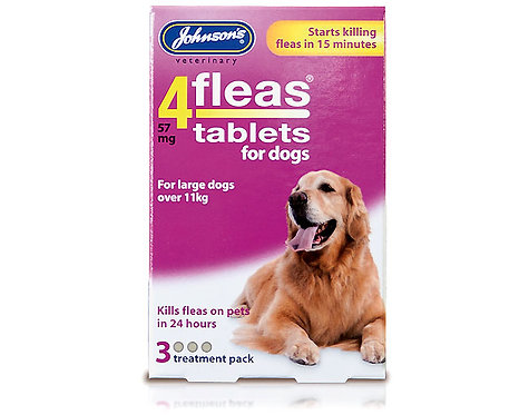 Johnson's 4fleas Tablets for Dogs