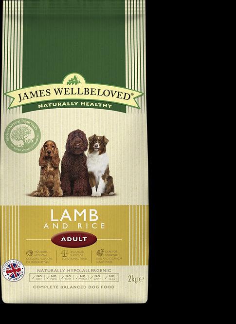 James Wellbeloved Adult Lamb & Rice