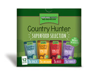 Natures menu Country Hunter Dog food pouches