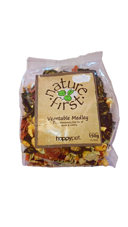 Vegetable Medley Happypet Nature First Treat