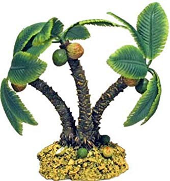 Palm Tree Island Fish tank decoration by Rosewood