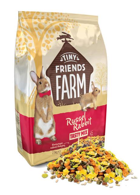 Tiny Farm Friends Russel Rabbit Tasty Mix 850g