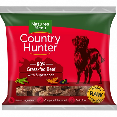Natures Menu Country Hunter Grass Fed Beef