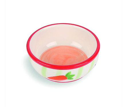 Croc Carrot design Bowl by Happypet