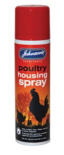 Johnson's Poultry Housing Insect Spray 250ml