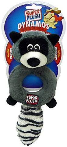 Dynamos Ring Raccoon Dog Toy