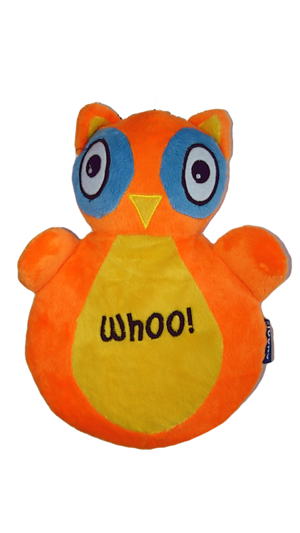 Ancol Owl Whoo! Dog Toy
