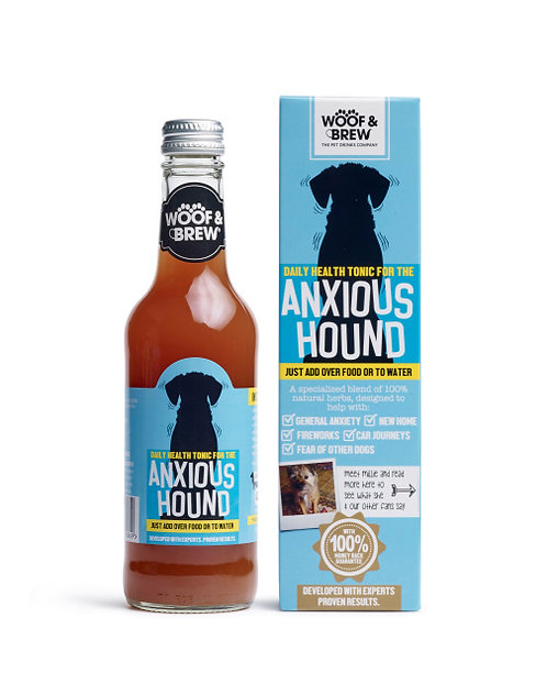 Woof & Brew Anxious Hound Anxiety Tonic