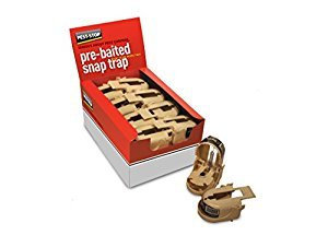 Pest Stop Pre-baited Snap Trap for Mice