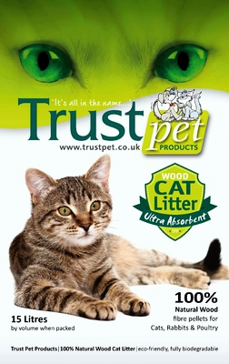 Trust Wood Cat Litter 15L