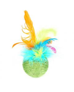 Happypet Tropical Feather Roller Cat Toy