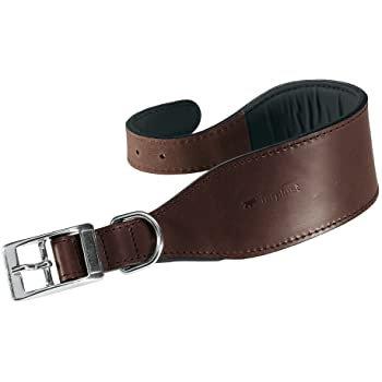Ferplast VIP  Dog Collar, 32 x 39 cm/ 20 mm, Brown