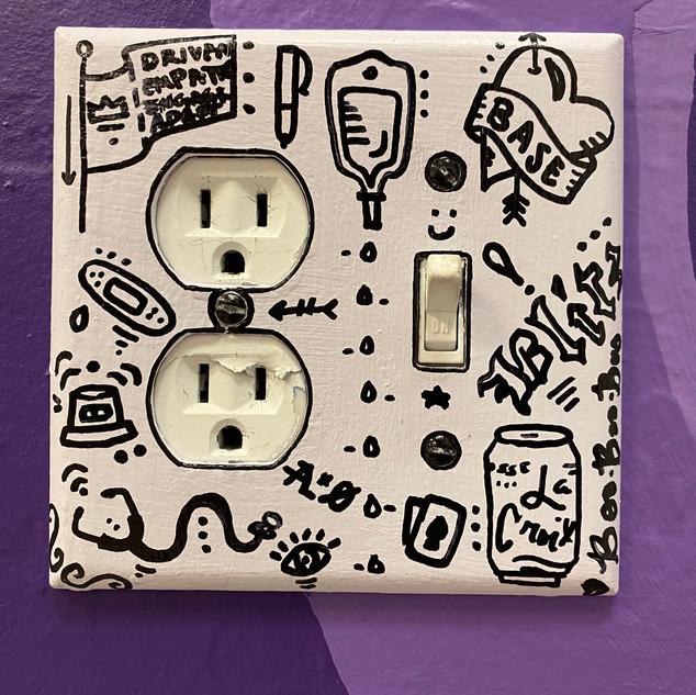Mural Light Switch