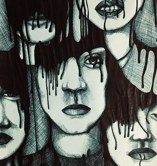 Drowning in Ink