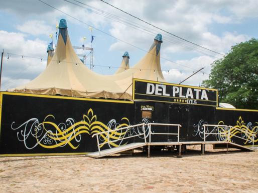 Circo Del Plata fará estreia em Piripiri