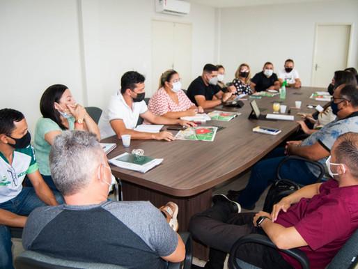 Secretarias municipais fazem planejamento para o festejo da padroeira de Piripiri
