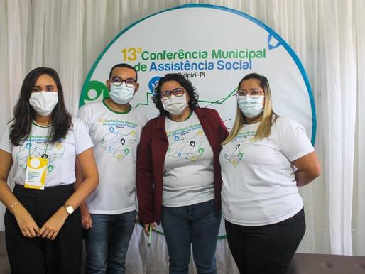 Piripiri realiza sua 13ª Conferência Municipal de Assistência Social