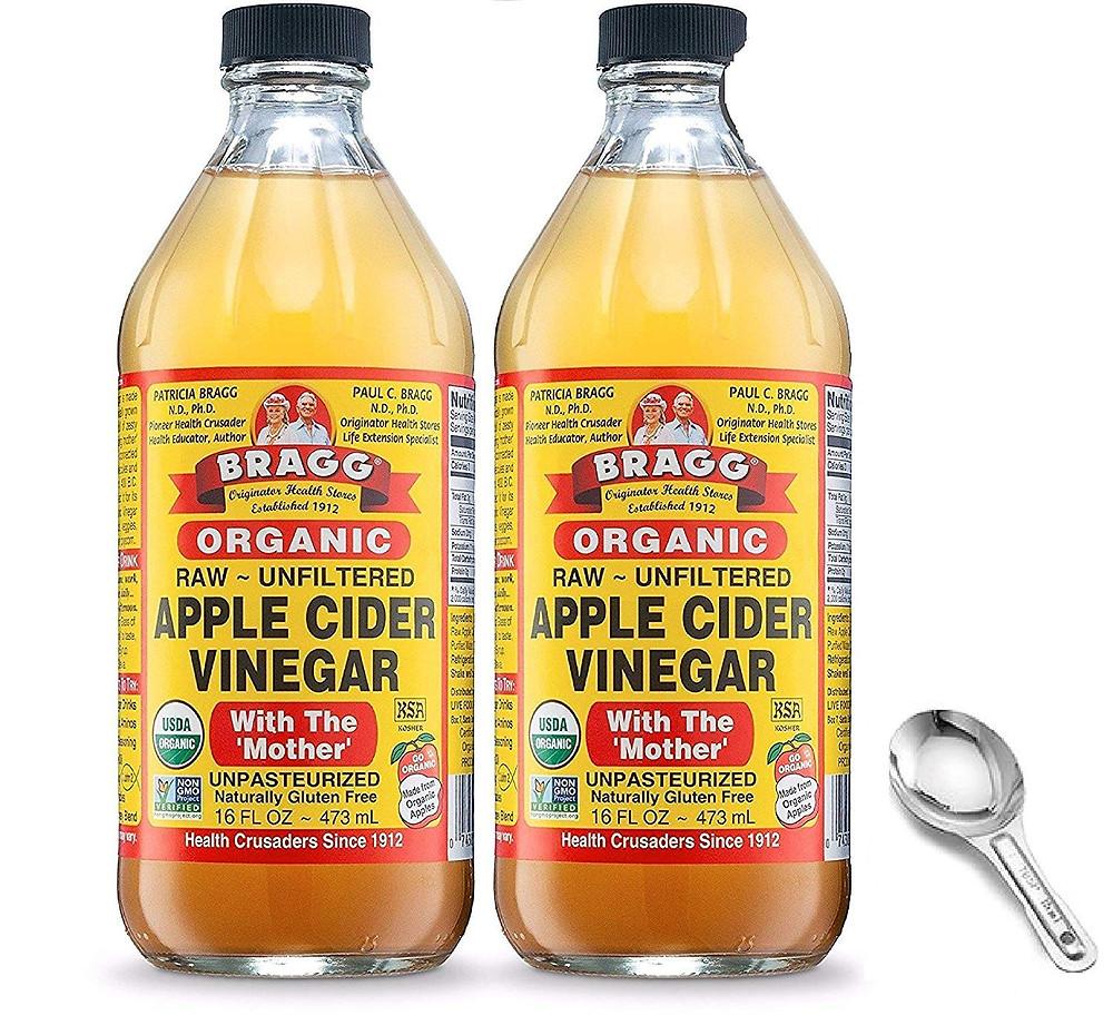 Bragg organic raw unfiltered apple cidar vinegar