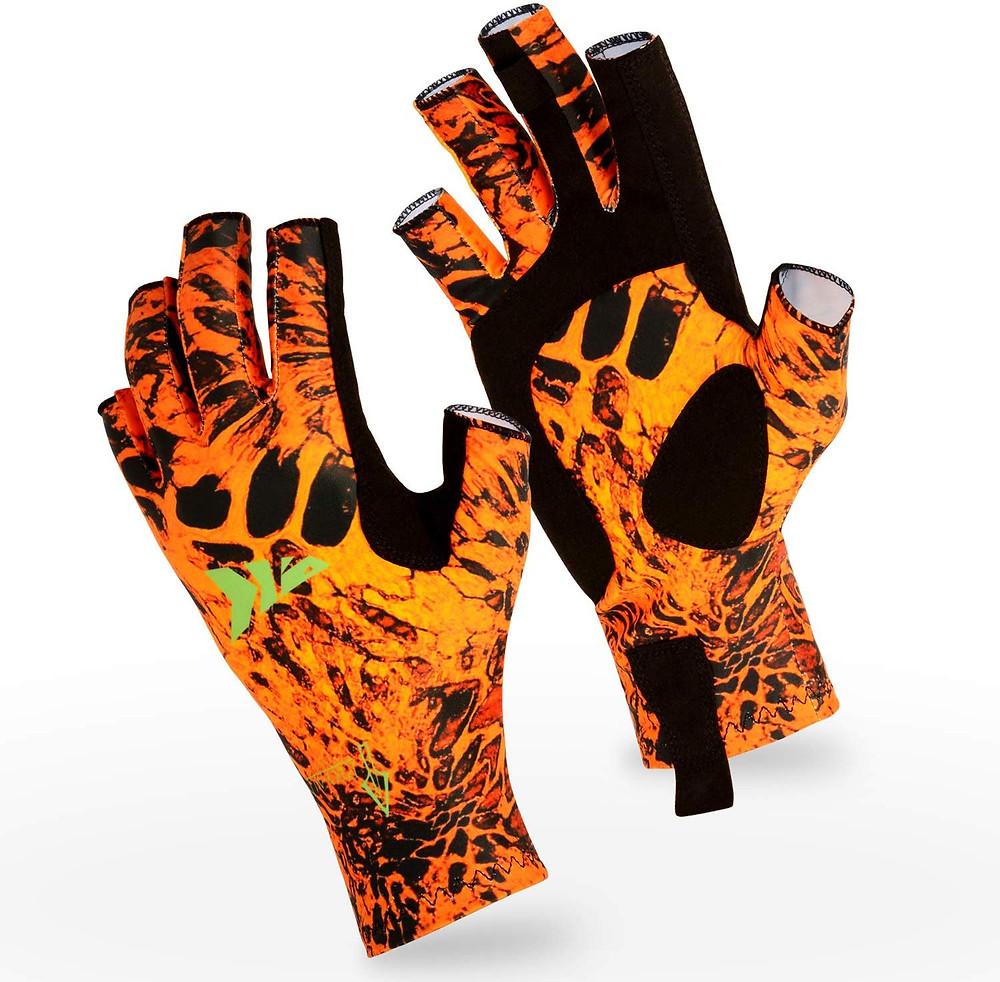 Kastking sol armis fishing gloves