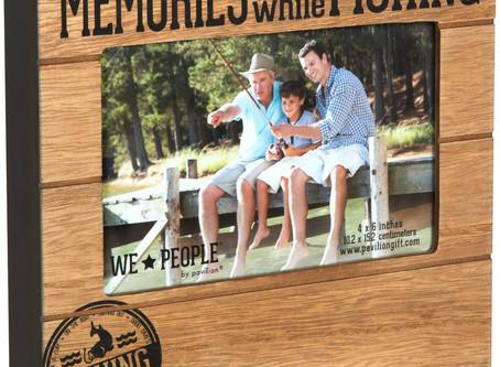 "We People Fishing People Frame, 7-1/2 x 6-3/4"""