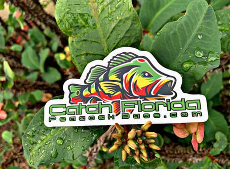 Catch Florida Peacock Bass Kayak Decal